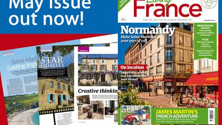 May 2017 issue of Living France on sale now