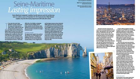 We explore the Normandy department of Seine-Maritime in the May issue of Living France