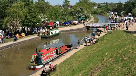A festival brings the canal at Moira to life