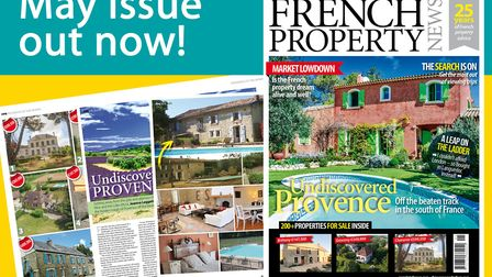 French Property News' May 2017 issue is on sale now