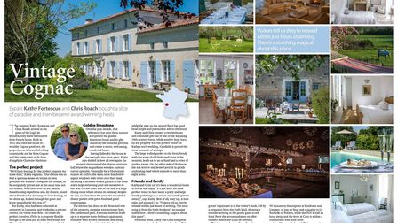 FPN's May 2017 issue features an award-winning B&B in Charente