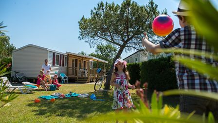 Camping in France is the perfect family holiday © Siblu