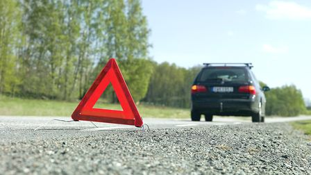 Always put a warning triangle out if you break down in France © gemenacom / Fotolia