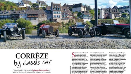 Corrèze by classic car