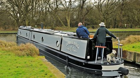 Perfect for peaceful cruising - ideal for a couple who travel more than 800 miles a year