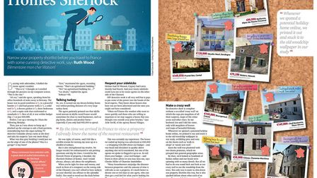 Clever detective work to help with property hunting in the June 2017 issue of French Property News
