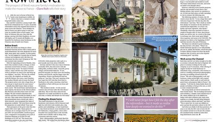 A British family in France in the June 2017 issue of French Property News