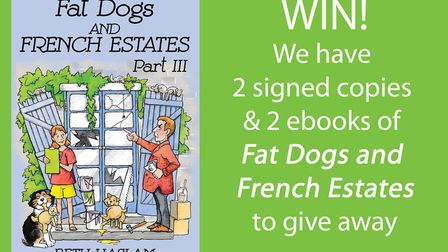 Win a copy of Fat Dogs and French Estates by Beth Haslam