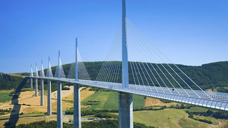Drive across the Millau viaduct for some serious panoramic views ©iStock