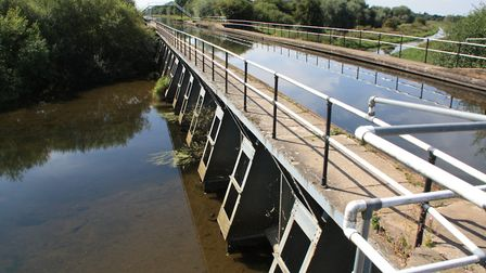 The New Junction Canal bridges the River Went