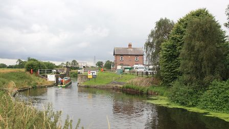 Haddlesey Flood Lock, Selby Canal