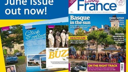 The June 2017 issue of Living France is out now!