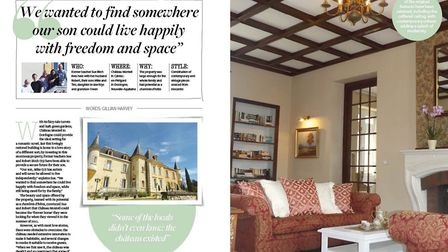 Step inside this restored château in Dordogne in the June issue of Living France