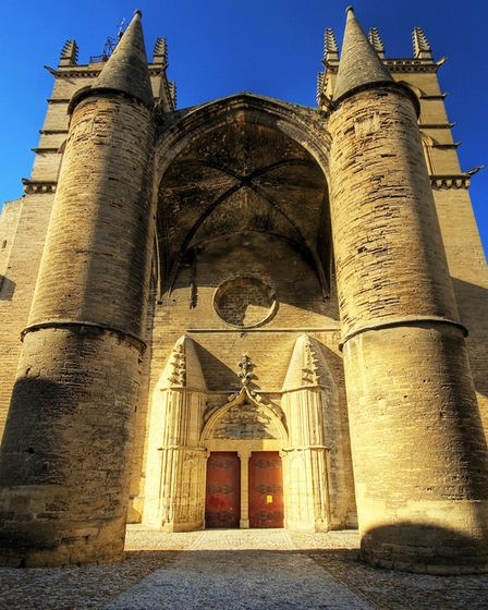 Outside Montpellier's impressive cathedral © Wolfgang Staudt CC BY 2.0