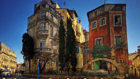 One of several trompe l'oeil in the centre of Montpellier © Wolfgang Staudt CC BY 2.0