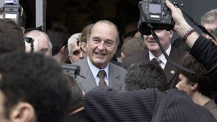 President Jacques Chirac © Eric Pouhier CC BY-SA 2.5