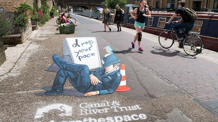 Share the Space, Drop Your Pace campaign (Canal & River Trust)