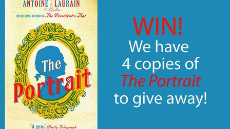 Win a copy of The Portrait by Antoine Laurain