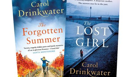 Signed books by Carol Drinkwater