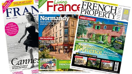 Subscription to France Magazine, Living France or French Property News
