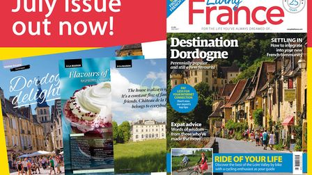 The July 2017 issue of Living France is out now!