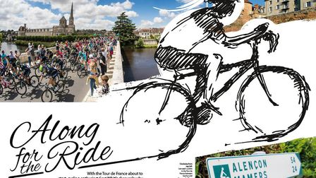 Scot Whitlock explores the Loire Valley by bike in the July issue of Living France