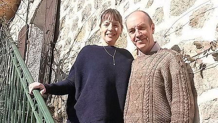 Leslie Rayney and Teo Leyssen have no regrets about moving to rural France © Leslie Rayney and Teo L
