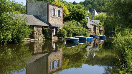 The beautiful village of Pontrieux in Brittany © Herve Ronne / Brittany tourism