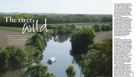 A self-drive cruise along the Charente River