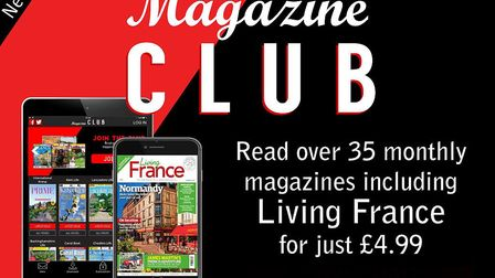 Read Living France and 35 other magazines every month with Magazine Club