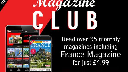 Read France Magazine and 35 other magazines every month with Magazine Club