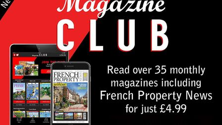 Read French Property News and 35 other magazines every month with Magazine Club