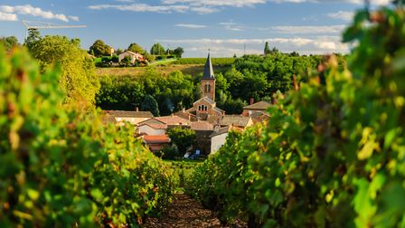 The Beaujolais wine region has many pretty villages, such as St Julien mbonaparte - Getty Images/iSt
