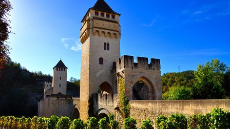 A vineyard by the iconic Pont Valentr near Cahors Doug Schweigert - Getty Images/iStockphoto