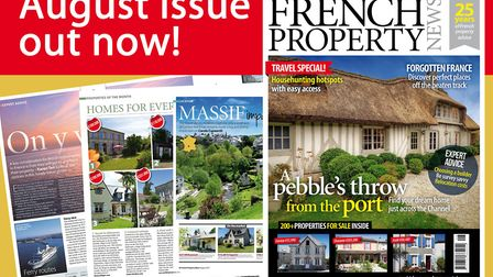 The new issue of French Property News is out now