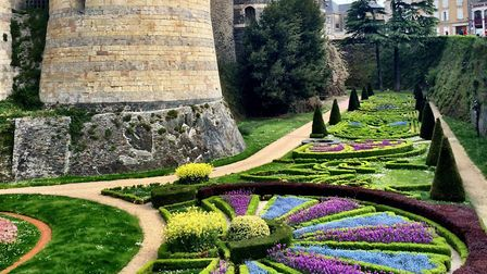 The chateau in Angers © Oui in France