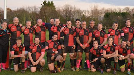 Watton RFC wore pink armbands and socks in support of the DoEveRYthiNg Foundation and the Blackwell