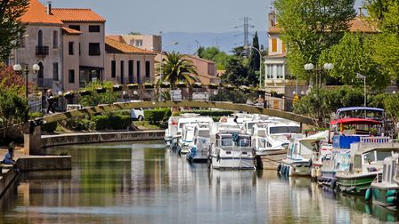 Canal Robine in Narbonne © Debande Lisa / Mairie Narbonne