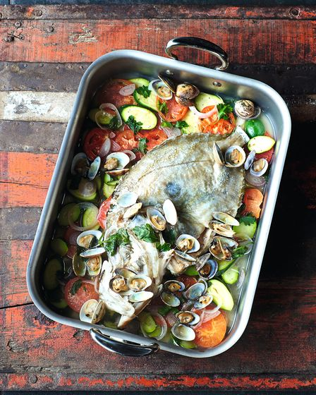 Impress your friends with James Martin's recipe for John Dory & Clams (c) Peter Cassidy