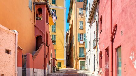 The sunny streets of Menton, on the Côte d'Azur ©rglinsky - Thinkstock