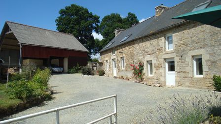 Spacious three-bed house in Brittany