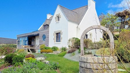 Beautifully renovated house with coastal views in Brittany from Leggett
