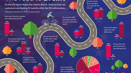 The road to Brexit survey results by TorFX