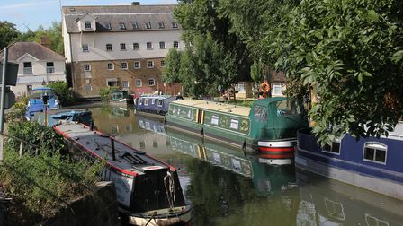 Roydon Mill, on a short arm of the Stort