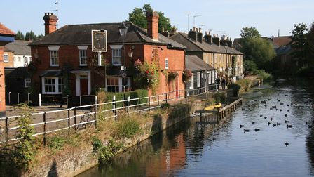 Near the limit of navigation in Hertford