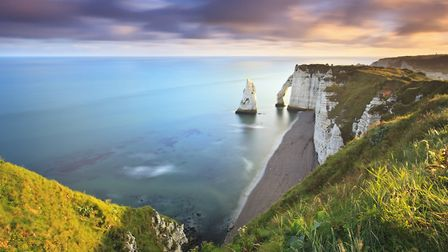 Etretat in Seine-Maritime is home to one of Frances most expensive beaches © Thinkstockoutcast85 Thi