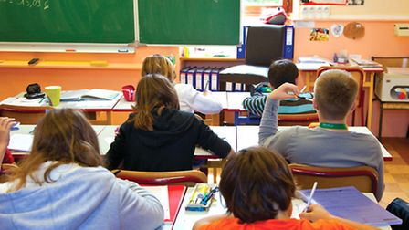Pupils at a French school © Fotolia