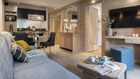 Kitchen area at Residence Amaya in Les Saisies © MGM French Properties