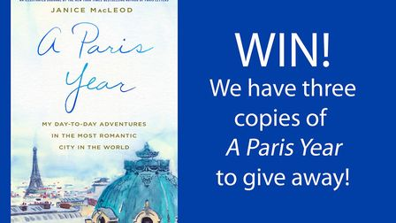 Enter our competition for your chance to win a copy of the book A Paris Year