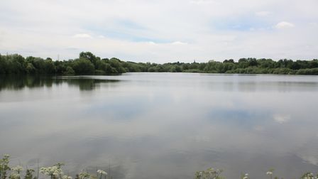 The proposed route skirts Daventry Reservoir